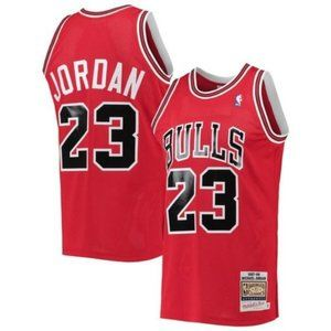 Men's NBA Chicago Bulls Michael Jordan 23 Jersey